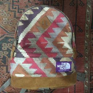 North face Purple Label Kilim backpack RARE